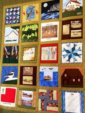 the Westport Island quilt 2011