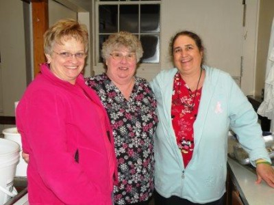 Joyce Spicer, Nita Greenleaf, Louise Speece