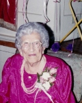 Verlie Greenleaf at her 100th birthday celebration