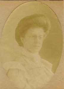 a young Verlie Greenleaf