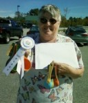 third place prize winner in King Arthur pie contest