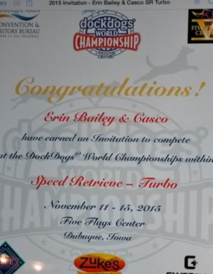 Casco's invitation to the nationals