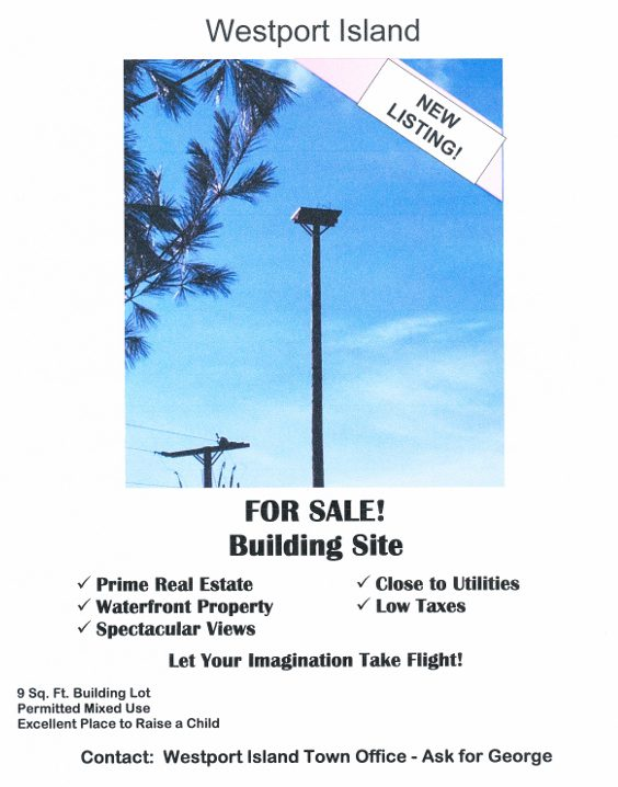 osprey nest platform real estate listing
