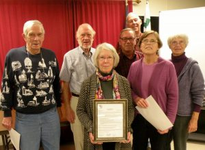 Committee members receive Spirit of America award