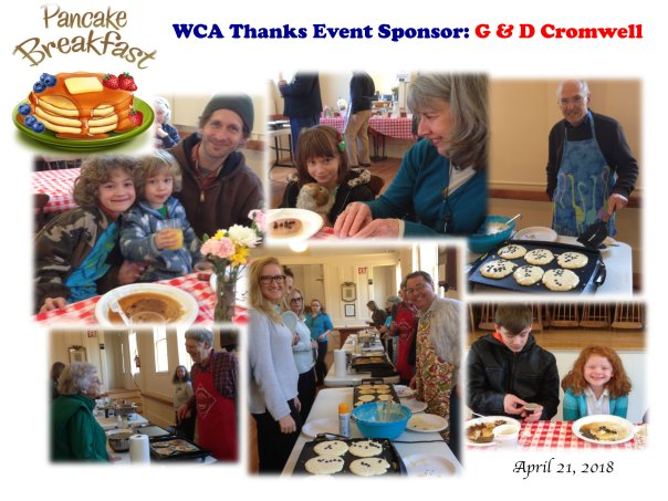 pancake breakfast collage